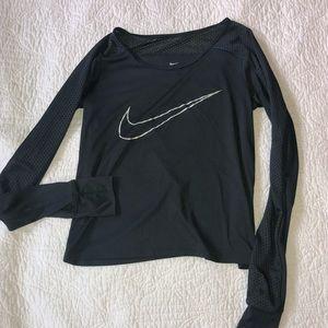 Nike crop long sleeve